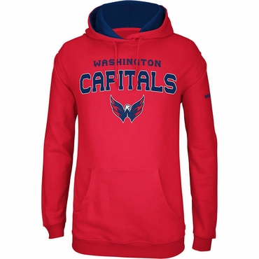 Reebok 218FA/H Faceoff Playbook Hockey Hoodie - Washington Capitals - Senior