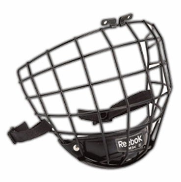 Reebok 5K Hockey Helmet Cage - Black