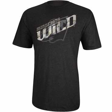 Reebok Box Cutter Senior Short Sleeve Shirt - Minnesota Wild