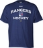 Reebok Center Ice R200 Senior Short Sleeve Hockey Shirt - New York Rangers