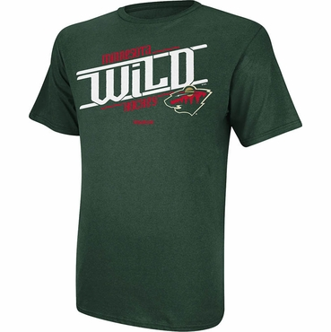 Reebok Custom Hockey Senior Short Sleeve Shirt - Minnesota Wild