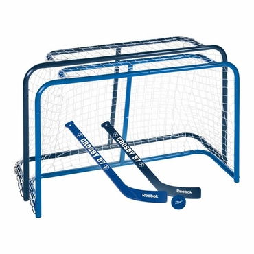 Reebok Deluxe Steel Mini Hockey Set - Crosby