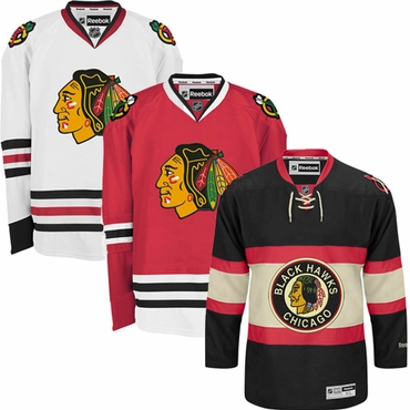 Reebok Edge Premier Senior Hockey Jersey - Chicago Blackhawks