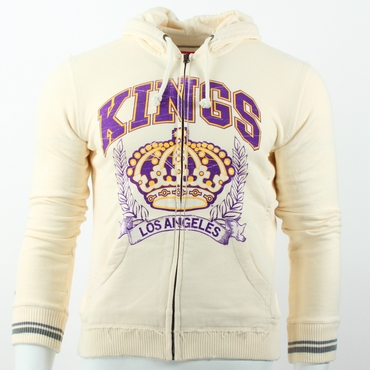 Reebok Full Zip Fleece Hockey Hoodie - Los Angeles Kings - Women