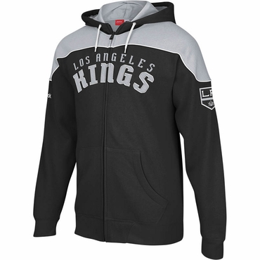 Reebok NHL Full Zip Hoodie - Los Angeles Kings - Senior