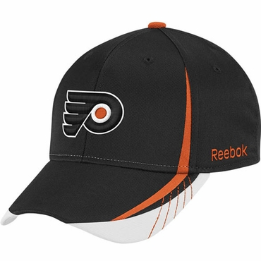 Reebok Senior Structured Flex Hockey Hat - Philadelphia Flyers