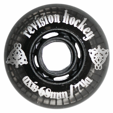 Revision Axis Inline Hockey Wheels - 74A - Smoke