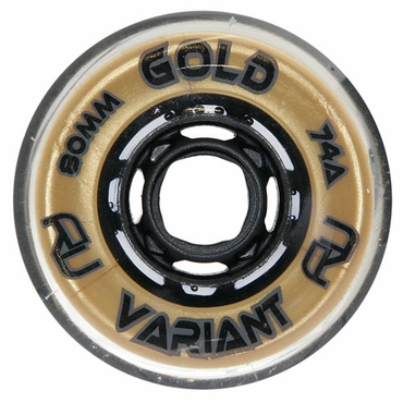 Revision Variant Gold Indoor Inline Hockey Wheels - Gold