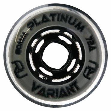 Revision Variant Platinum Indoor Inline Hockey Wheels - Platinum
