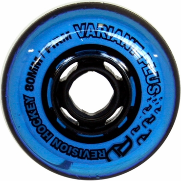 Revision Variant Plus Indoor Inline Hockey Wheels - 76A - Blue