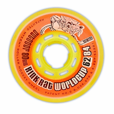 Rink Rat World Cup Outdoor Inline Hockey Wheels