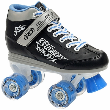 Roller Derby Blazer Lighted Wheel Boys Quad Skates - 2010