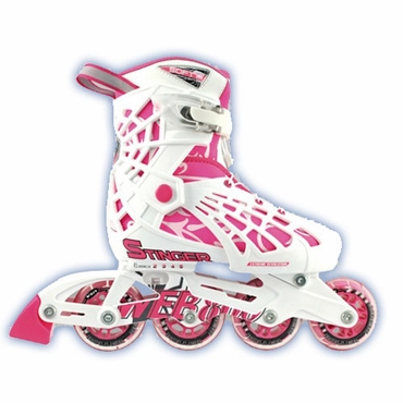 Roller Derby Web Stinger Girls Adjustable Inline Skates