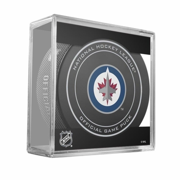 Sher-Wood NHL Official Game Puck - Winnipeg Jets