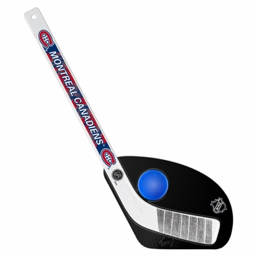 Sherwood Hat Trick 2 Piece Mini Player Stick with Foam Ball - Montreal Canadiens