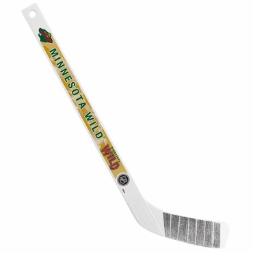 Sherwood NHL Mini Player Plastic Stick - Minnesota Wild