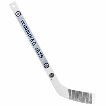 Sherwood NHL Mini Player Plastic Stick - Winnipeg Jets