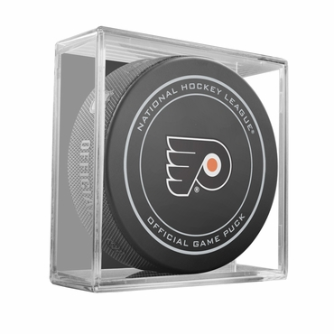 Sher-Wood NHL Official Game Puck - Philadelphia Flyers