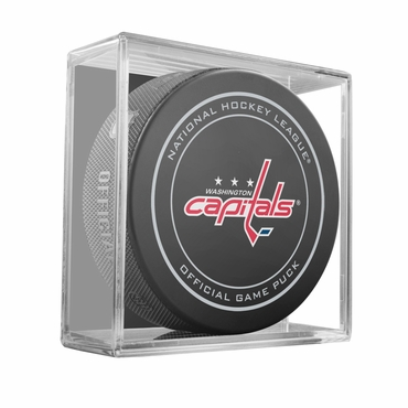 Sherwood NHL Official Game Puck - Washington Capitals