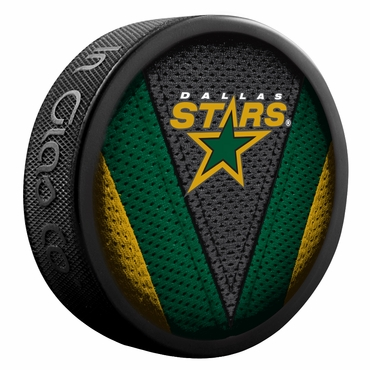 Sherwood NHL Stitch Souvenir Puck - Dallas Stars