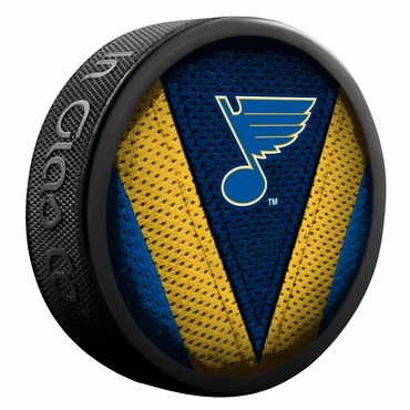 Sherwood NHL Stitch Souvenir Puck - St. Louis Blues