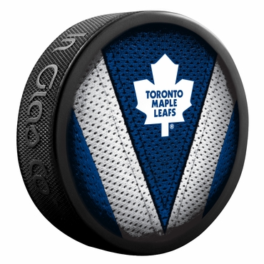 Sher-Wood NHL Stitch Souvenir Puck - Toronto Maple Leafs