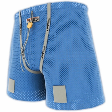 Shock Doctor 278 Girls Loose Hockey Shorts with Pelvic Protector