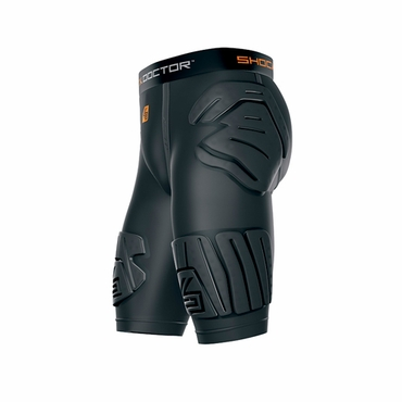 Shock Doctor Shockskin 5-Pad Ext Senior Hockey Impact Shorts