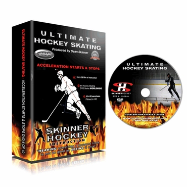 Skinner Ultimate Hockey Skating Acceleration Starts & Stops Hockey DVD - Disc 6