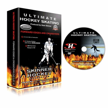 Skinner Ultimate Hockey Skating Forward Edges & Crossovers Hockey DVD - Disc 3
