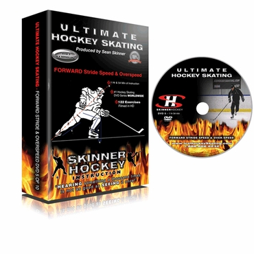 Skinner Ultimate Hockey Skating Forward Stride Speed & Overspeed Hockey DVD - Disc 5