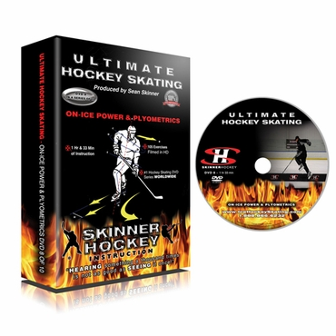 Skinner Ultimate Hockey Skating On-ice Power & Plyometrics Hockey DVD - Disc 8