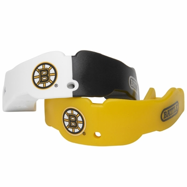 TapouT NHL Hockey Mouthguard - 2 Pack - Boston Bruins - Senior