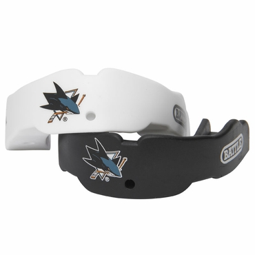 TapouT NHL Hockey Mouthguard - 2 Pack - San Jose Sharks - Youth
