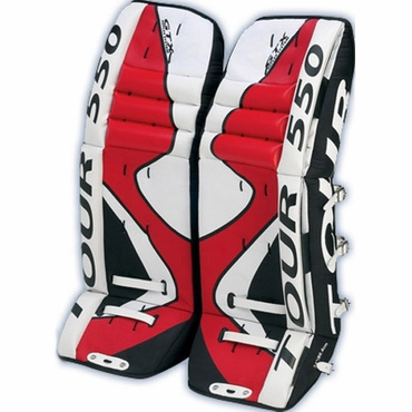 Tour 550 Senior Hockey Goalie Leg Pads