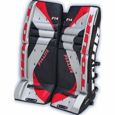 Tour F-14 Hockey Goalie Leg Pads - Senior