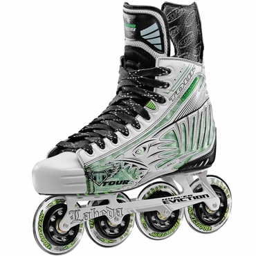 Tour Fish Bonelite White Pro Senior Inline Hockey Skates