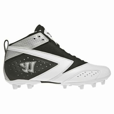 Warrior 2nd Degree Speed Lacrosse Cleats - Black - Adult