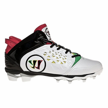 Warrior Adonis Adult Lacrosse Cleats - Rasta