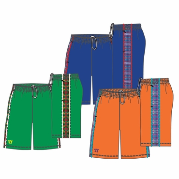 Warrior Ain't So Aztec Adult Hockey Shorts - 2012