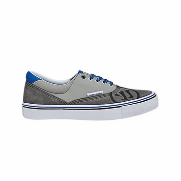 Warrior Deke Youth Shoes - Gray Suede - 2012