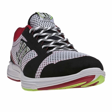 Warrior Dojo Senior Shoes - White/Red/Multi - 2012