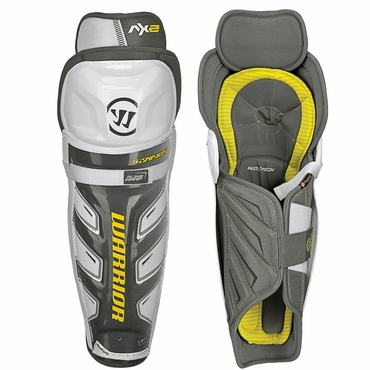 Warrior Dynasty AX2 Intermediate Hockey Shin Guards
