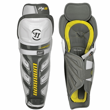 Warrior Dynasty AX2 Junior Hockey Shin Guards