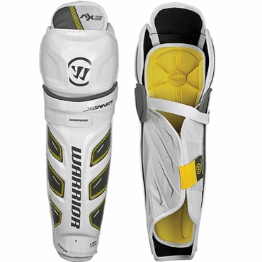 Warrior Dynasty AX3 Junior Hockey Shin Guards