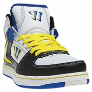 Warrior Hound Dog Youth Shoes - White/Yellow/Blue - 2012