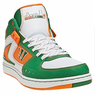 Warrior Hound Dog Senior Shoes - Green/Orange - 2012