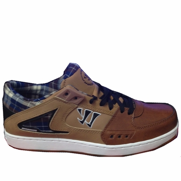 Warrior Low Dog Lifestyle Shoe - Brown/Tan/Plaid - Senior