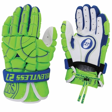 Warrior MD4 Adult Lacrosse Headstrong Lacrosse Gloves