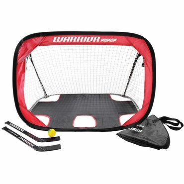 Warrior Pop Up Mini Hockey Net - Kit